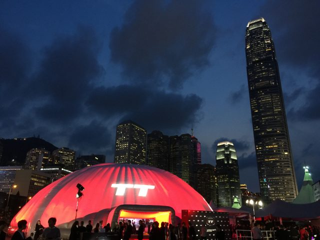 Audi The New TT Launch 2015 @Central Harbourfront Event Space Hong Kong