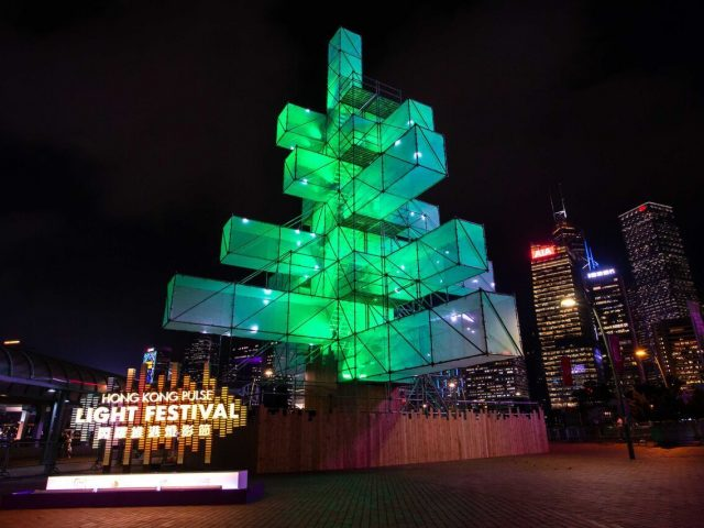 Hong Kong Pulse Light Festival 2018 @Central Harbourfront Event Space Hong Kong