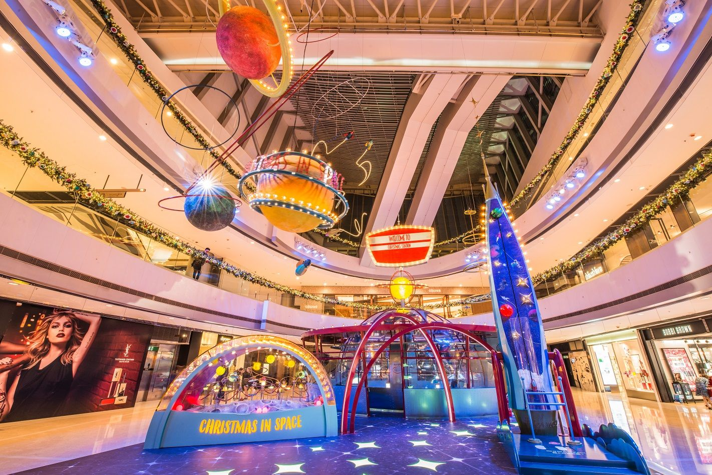 IFC Mall Christmas Decoration 2018 @IFC Mall Hong Kong