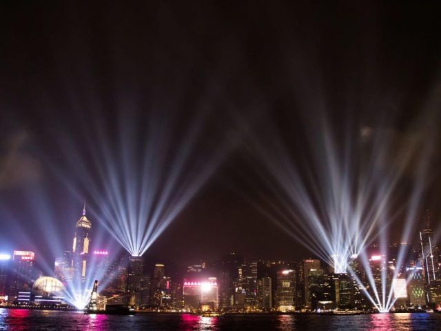 A Symphony of Lights Summer 2018 @Victoria Harbour Hong Kong