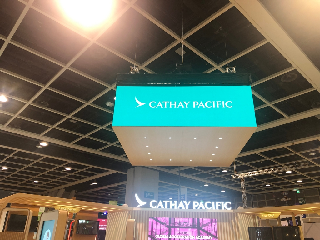 RISE Cathay Pacific Booth 2019 @HKCEC Hong Kong