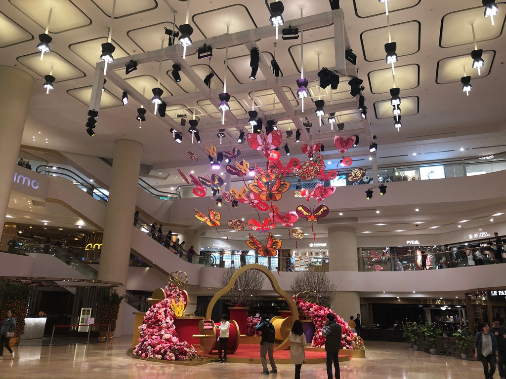 Pacific Place Chinese New Year Decoration 2019 @Pacific Place Hong Kong
