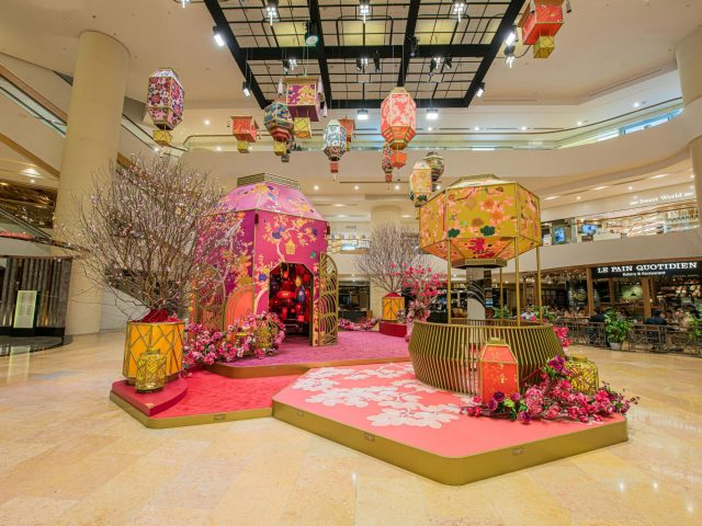 Pacific Place Chinese New Year Decoration 2020 @Pacific Place Hong Kong